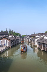 Ancient water town of Wuzhen, China.