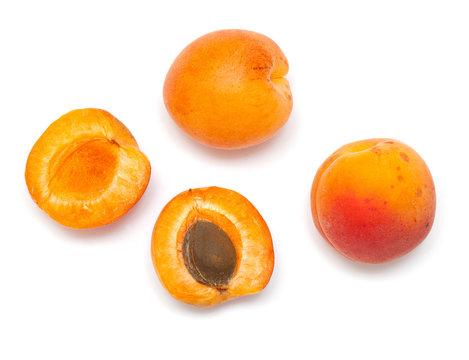 apricot fruit close up
