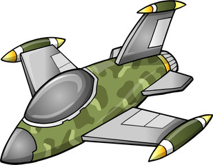 Cute Fighter Jet Aircraft
