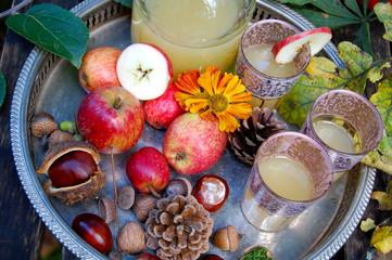 Stillleben Äpfel