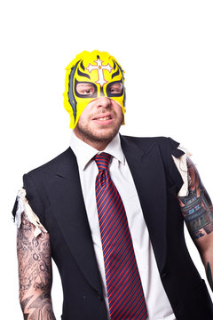wrestling business