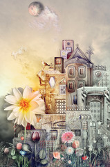Ancient town in to dreams