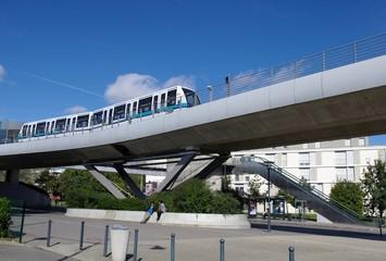 Métro à Rennes