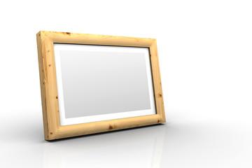 3D Holz-Bilderrahmen -  Fichte Ast