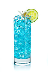 blue acochol  cocktail