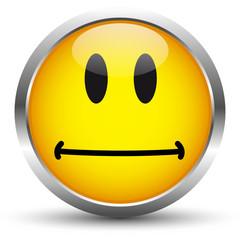 Vektor Smiley Gelb