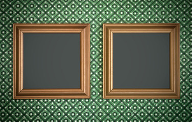 Blank picture frames