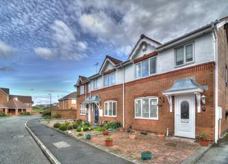 Houses, UK.