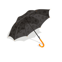 Umbrella on a Halloween