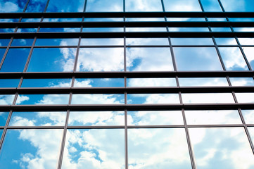 Glass and clouds