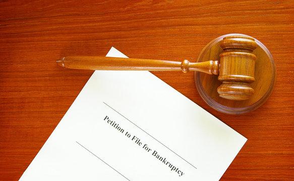 bankruptcy filing