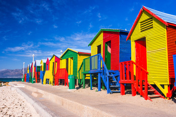 Fototapeten Südafrika St. James Beach Houses