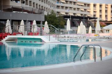 swimming pool at a resort