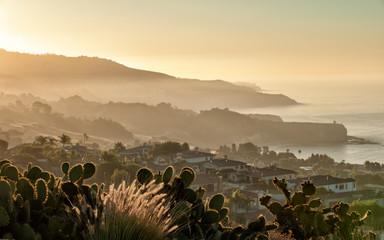 Fototapeten Los Angeles California coast south of Palos Verdes, Los Angeles