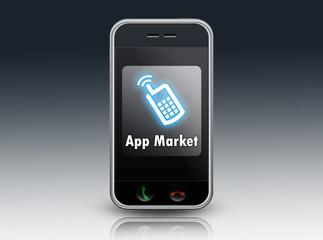 """Smartphone """"App Market"""""""
