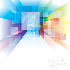 Abstract background for interior or architecture.