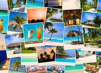Summer beach maldives images
