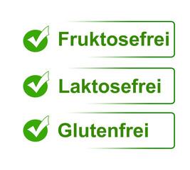 Fruktosefrei, Laktosefrei & Glutenfrei