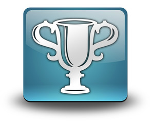 "Light Blue 3D Effect Icon ""Award Cup"""