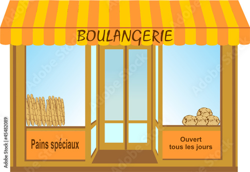 "Dessin Boulangerie boulangerie bis"" stock image and royalty-free vector files on"