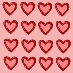 hearts, love