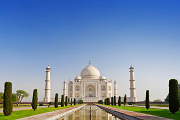 Fototapete - Taj Mahal, Agra