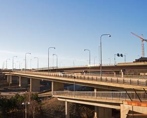 Brand new bridge.