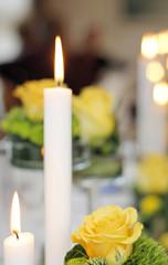 Hochzeit Kerzenschein Bokeh 2