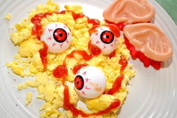 Scrambled Eyes with a Side of Ears