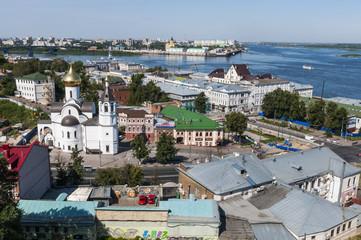 Панорама Нижнего Новгорода