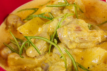 Yellow Curry Chicken (Massaman Curry Chicken)