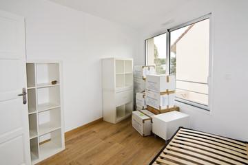 Chambre en déménagement