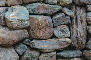 Background of a stone wall texture