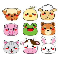 Animal Face Collection