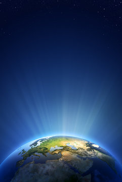 Earth Radiant Light Series - Europe