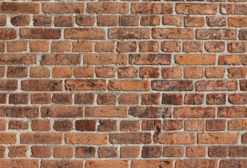 background red bricks wall