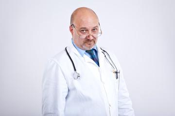 Doktor guckt