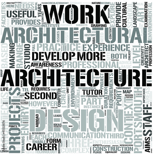 Architecture Word Cloud Concept Stock Image And Royalty Free Vector Files On Fotolia