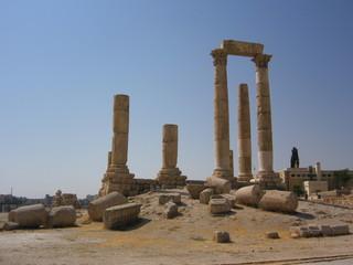 Jordan - Jordanie - Amman - Citadel - Citadelle - Jabal al-Qal'a