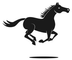 horse run symbol