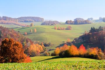 Wall Mural - Herbstlandschaft