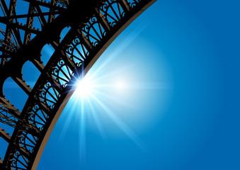 Tour_Eiffel_detail_Soleil_Rayons