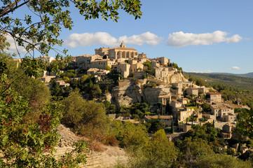Village provencal de Gordes dans le Lubéron