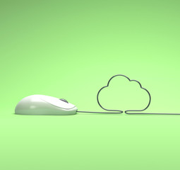 mouse and cloud