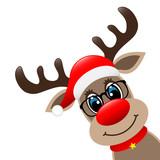 rudolph the red nosed reindeer stockfotos und. Black Bedroom Furniture Sets. Home Design Ideas