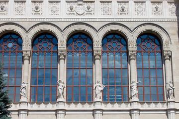 Vigado Concert Hall Facade in Budapest