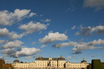 Drottningholms slott (royal palace)  Stockholm, Sweden