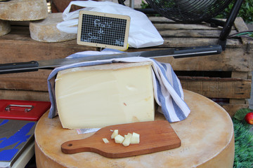 Cheese at a French market
