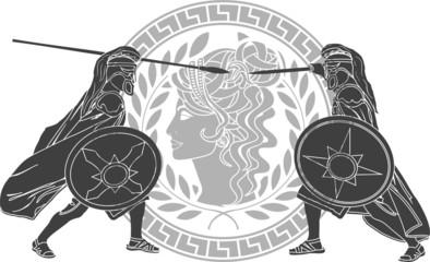 trojan war. third variant