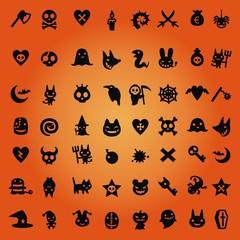 Halloween ~ Icons ~ Symbole - Megaset